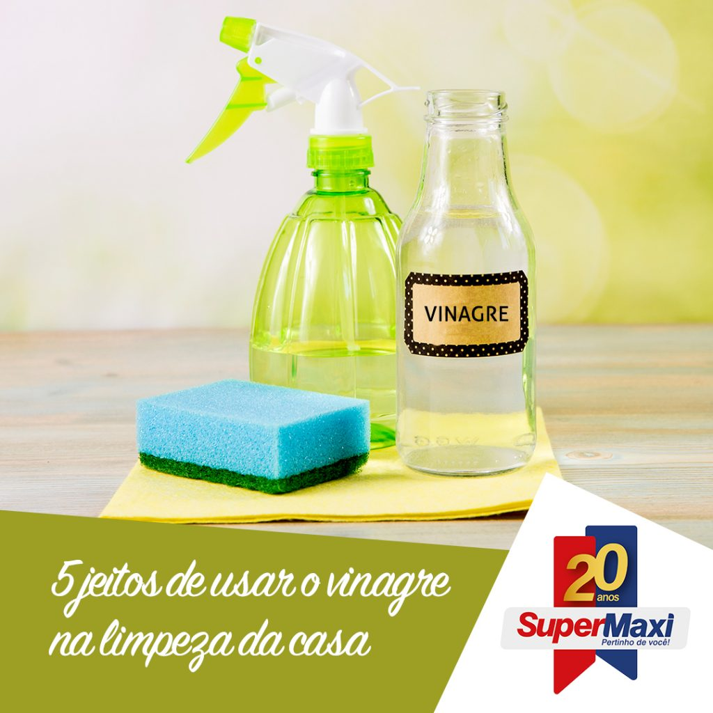 5 jeitos de usar vinagre na limpeza de casa