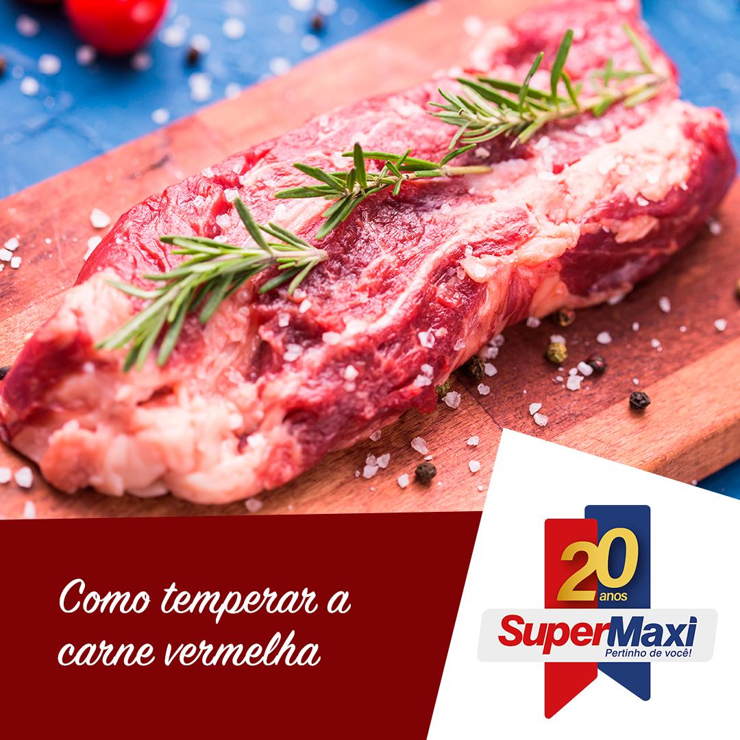 Como temperar a carne vermelha