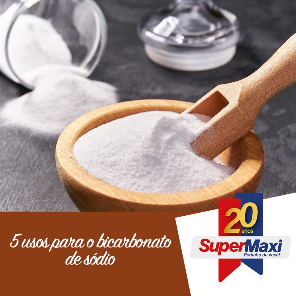 5 usos para bicarbonato de sódio