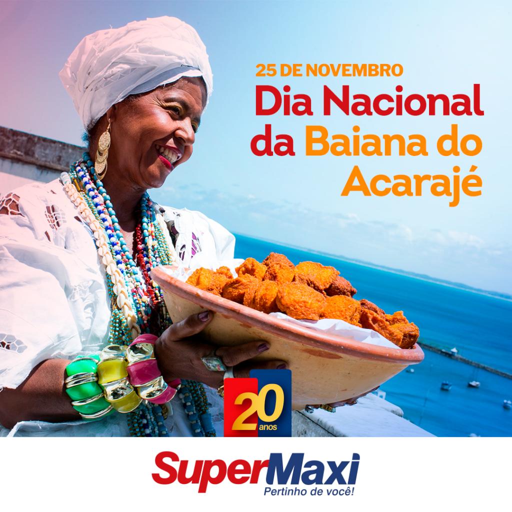 Dia Nacional da Baiana do Acarajé