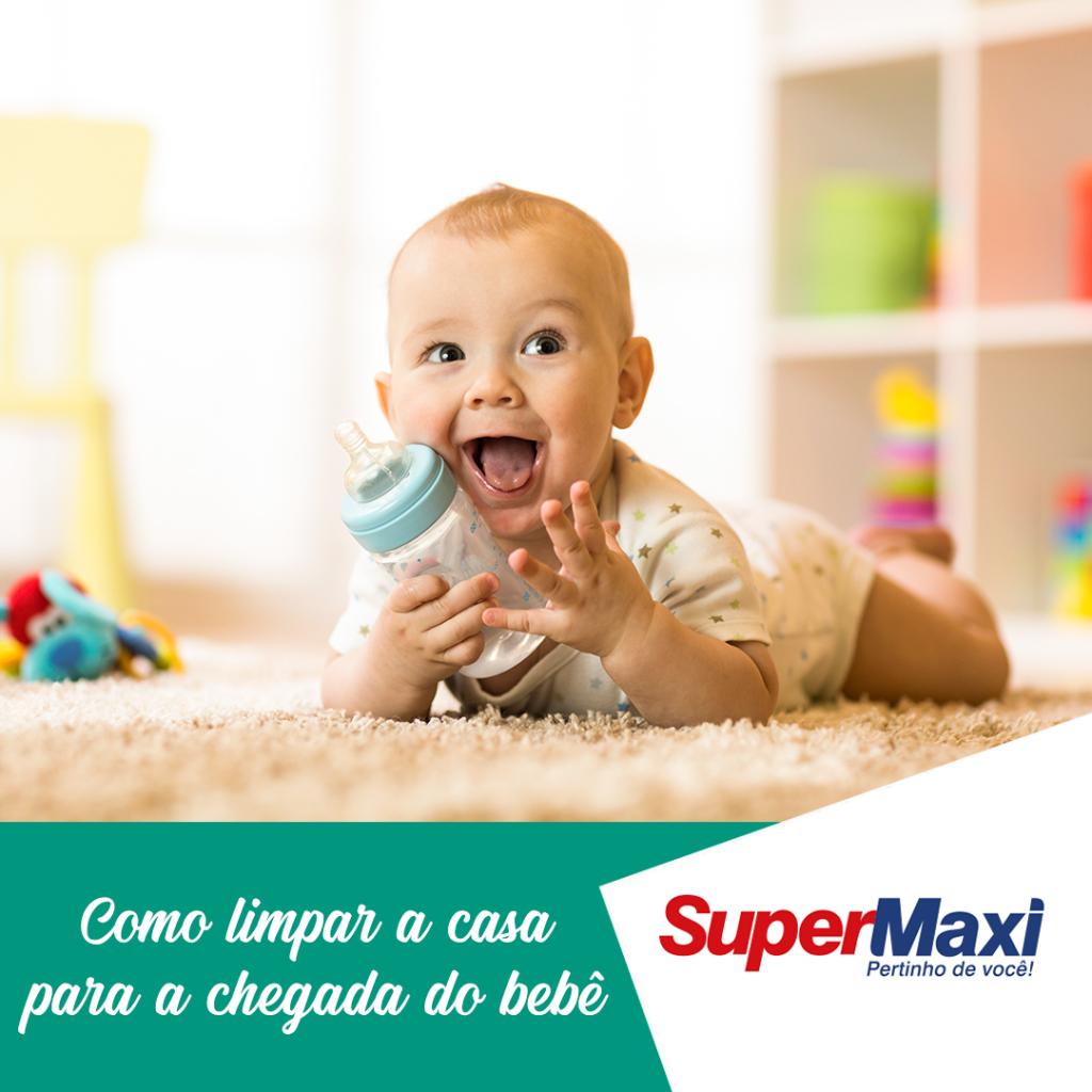 Como limpar a casa para a chegada do bebê