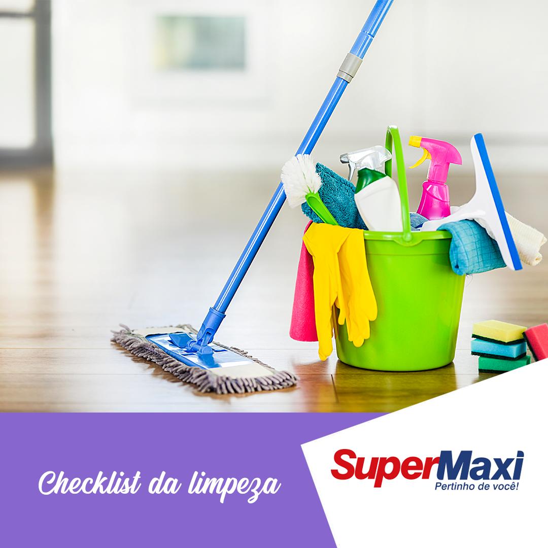 Checklist da limpeza