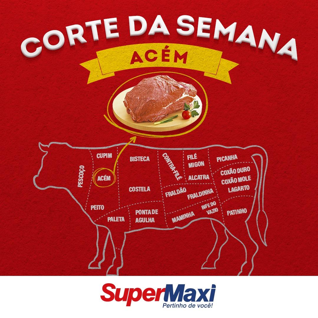 Cortes de carne bovina - ACÉM