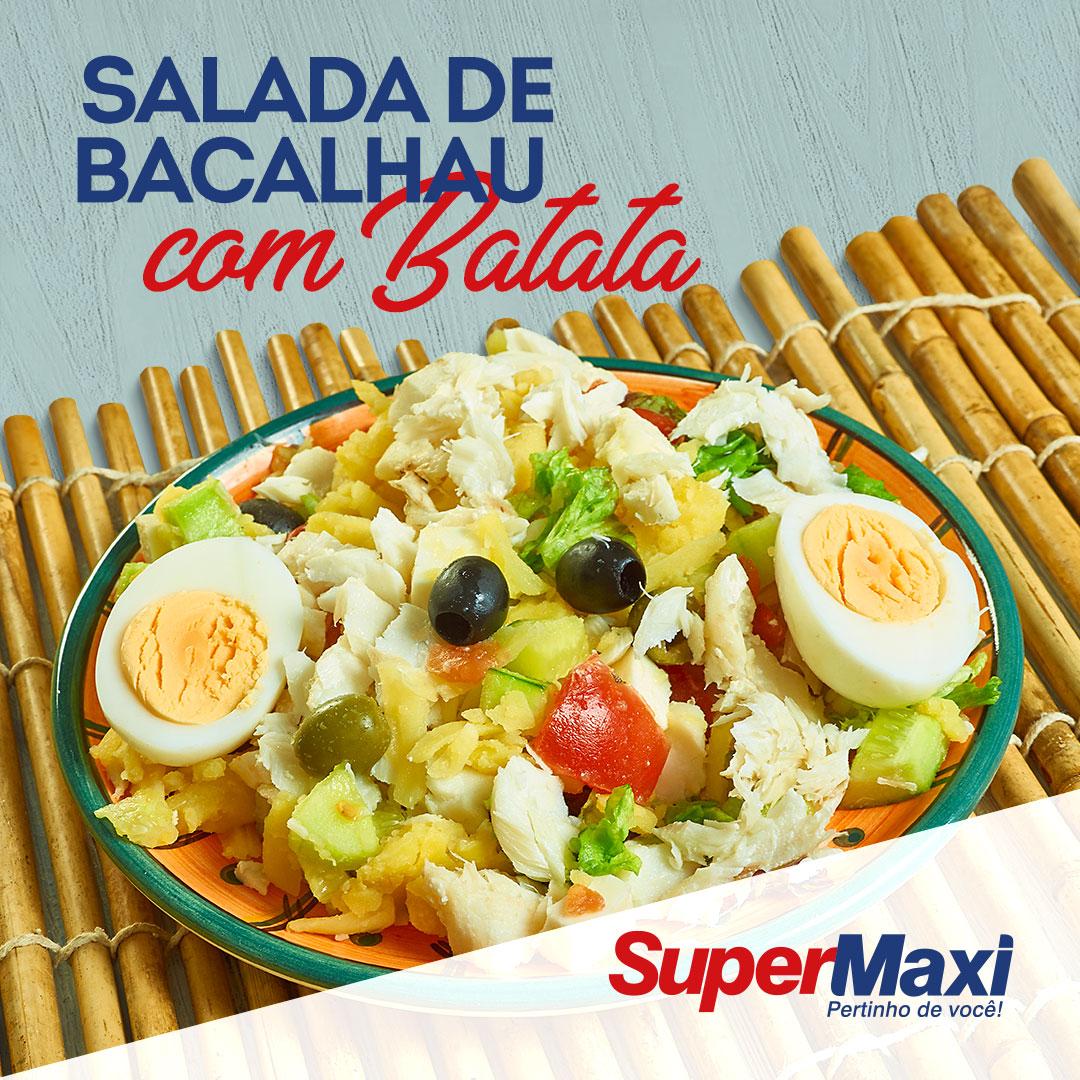 Salada de bacalhau com batata