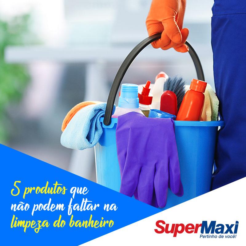 5 produtos que não podem faltar na limpeza do banheiro